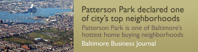 Pat Park Bmore's hottest neighborhood
